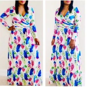 Dresses & Skirts - Wrap Maxi Dress